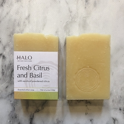 Fresh Citrus and Basil Bar Soap