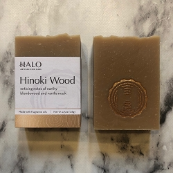Hinoki Wood Bar Soap