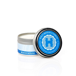Beach House Soy Candle Tin