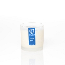 Nordic Spruce Frosted Jar Candle
