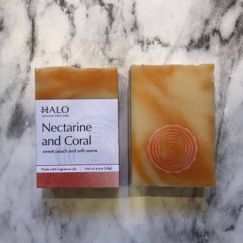 Nectarine and Coral Bar Soap